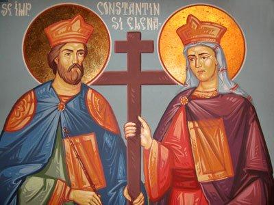 Vizualizati imaginile din articolul: La mulţi anii, de Sfinţii Constantin şi Elena!