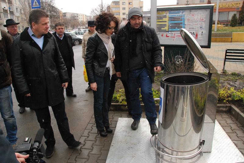Vizualizati imaginile din articolul: Primăria Tîrgu Mureş implementează o soluţie modernă de depozitare a gunoiului