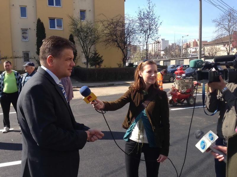 Vizualizati imaginile din articolul: Noi locuri de parcare pe strada Măgurei