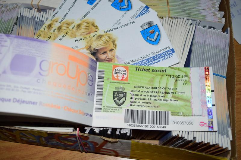 Vizualizati imaginile din articolul: Din 22 martie, Primăria Tîrgu Mureș distribuie tichetele sociale