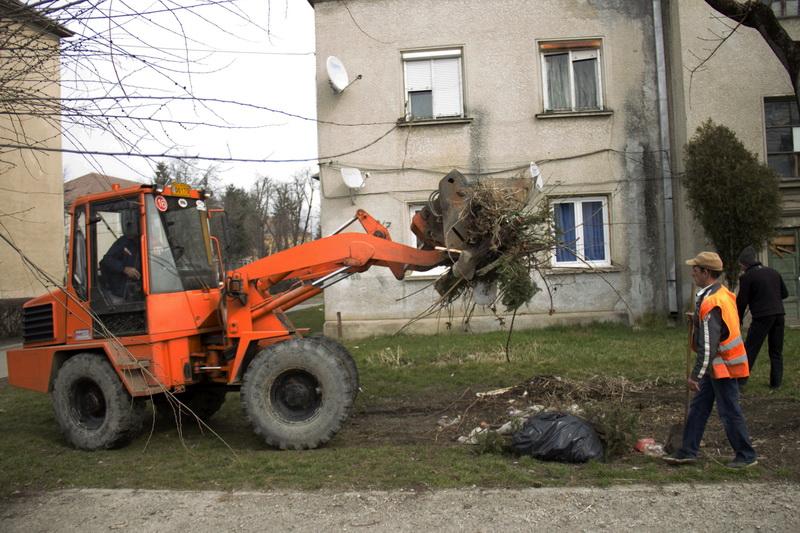 Vizualizati imaginile din articolul:  Curăţenia generală de toamnă continuă la Tîrgu Mureş!