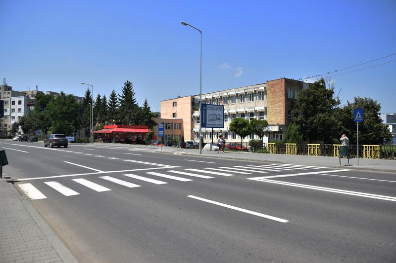 Vizualizati imaginile din articolul: Marcaje rutiere noi pe străzile din Tîrgu Mureş