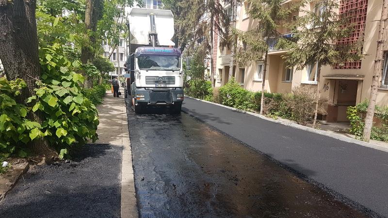 Vizualizati imaginile din articolul: Strada Făget din Tîrgu Mureş a fost asfaltată!