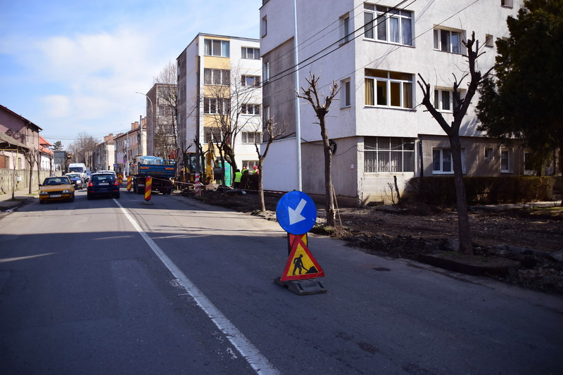 Vizualizati imaginile din articolul: Strada Liviu Rebreanu intră în reabilitare!