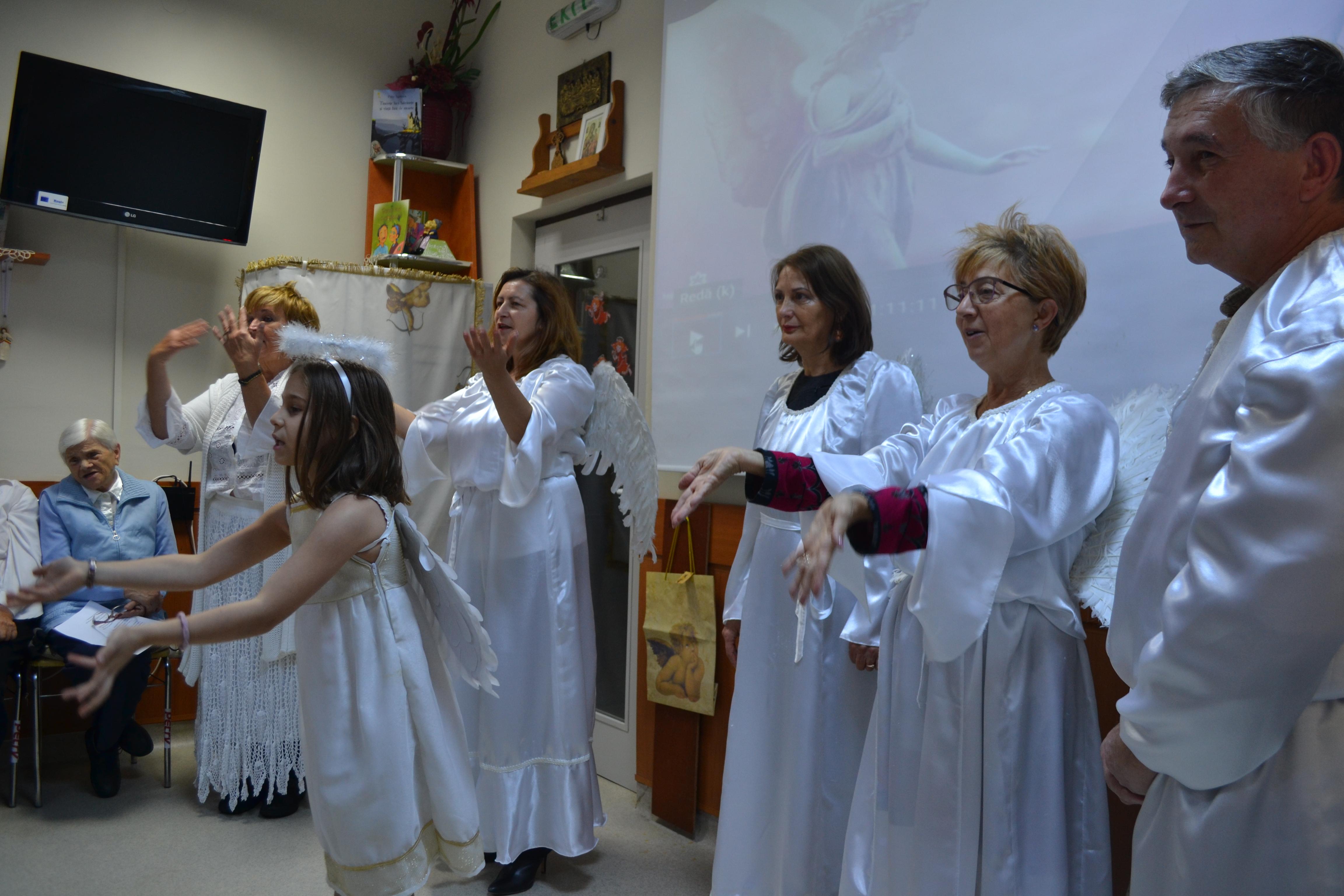 Vizualizati imaginile din articolul: Lasă-te îmbrăţişat de îngeri !