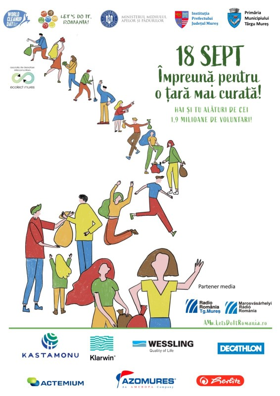 """Vizualizati imaginile din articolul: Fii voluntar în orașul tău! - Campanie de """"Curățenie națională"""""""