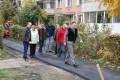Alei reabilitate în cartierul Nicolae Bălcescu