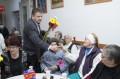 De Dragobete, la Căminul pentru vârstnici