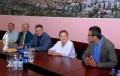 Pensionari din Kecskemet primiţi de viceprimarul Claudiu Maior