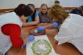 Mozaic multicolor la Căminului de Vârstnici din Tîrgu Mureș