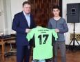 """""""Elevii"""" fotbalului tîrgumureşean au primit echipamente sportive"""