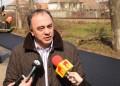 O nouă stradă reabilitată în Tîrgu Mureş