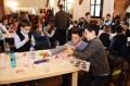 Több mint 250 gyerek festett tojást a Marosvásárhelyi Középkori Várban