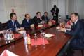 Ambasadorul Italiei în vizită la Primaria Tîrgu Mureş