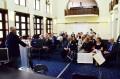 Dorin Florea polgármester Amici Urbis kitüntetést adott át a skóciai Walton Foundation képviselőjének