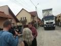 Asfalt nou pe strada Grigore Ploeşteanu