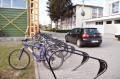 Pentru a oferi siguranţă parcajelor de biciclete pe termen lung Primăria Tîrgu Mureş montează rastele în toate zonele frecventate de biciclişti