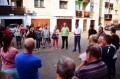 A polgármester tanácsadója, Claudiu Maior az Ágacska utca lakóival találkozott