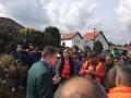La fața locului! La SC Salubriserv protestele au încetat și muncitorii s-au reapucat de lucru!