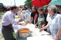 A nyugdíjasok Dorin Florea polgármesterrel piknikeztek