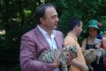 At Tirgu Mures Zoo  the Mayor was welcomed by two tiger whelps(this article is available in Romanian and Hungarian language only)